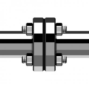 chrome pipe flange