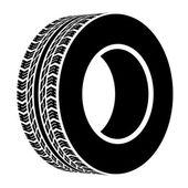 Fotografie symbol černé Terénní pneumatiky