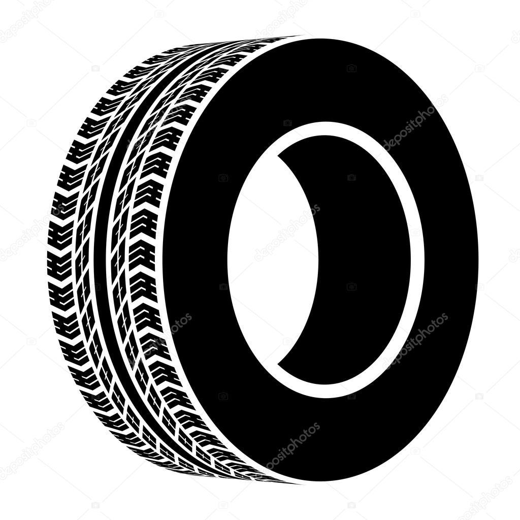 Smbolo de pneu preto terreno vetor de stock happyroman 28722659 smbolo de pneu preto terreno vetor de stock biocorpaavc