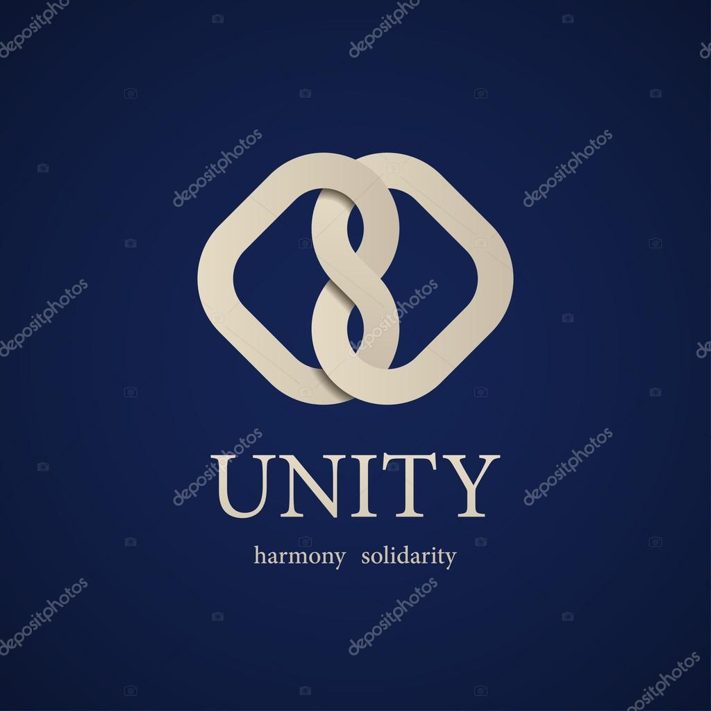 Einheit Knoten Symbol Entwurfsvorlage — Stockvektor © happyroman ...