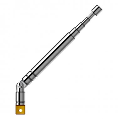 chrome telescopic antenna