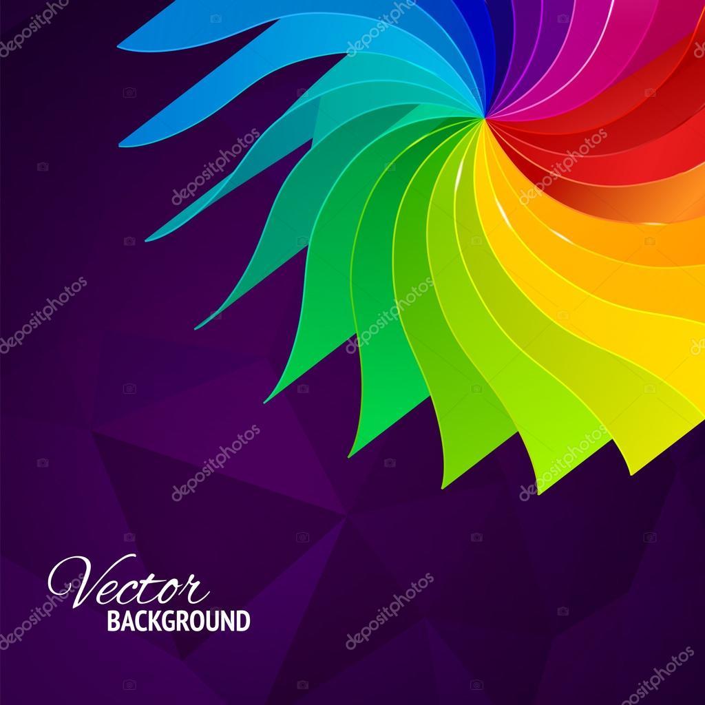 colores de fondo con arco iris páginas libro — Archivo Imágenes ...
