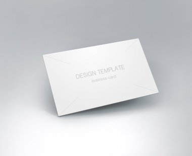 Business card mockup.