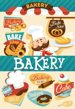 Bakery design template