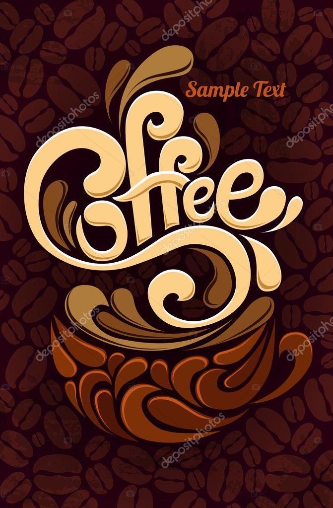 Coffee design template