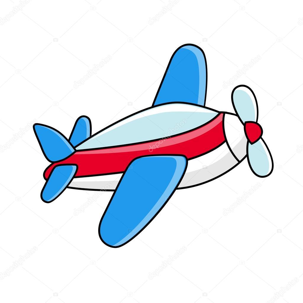 самолёт детские картинки