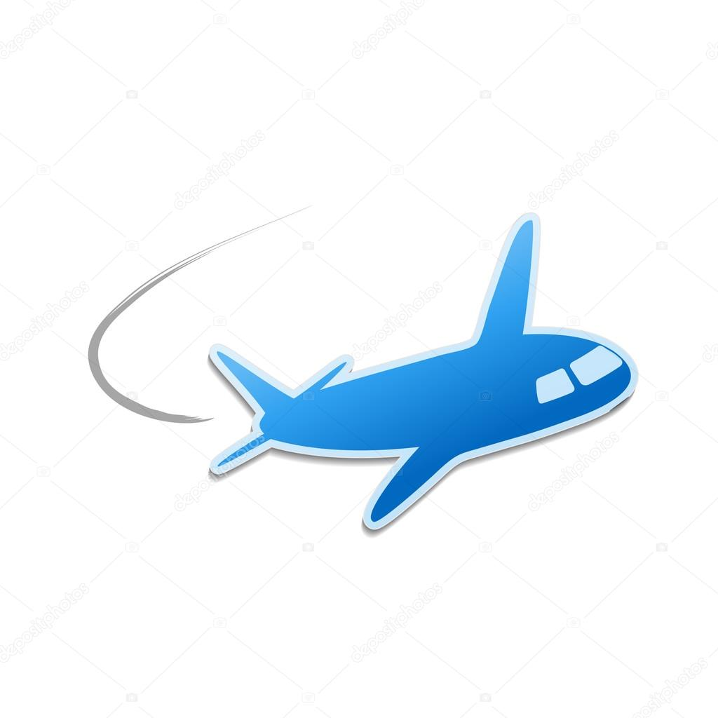 Vector flying airplane stock vector renadesign 33334553 vector flying airplane stock vector buycottarizona Image collections