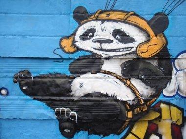 GRAFFITI DETAIL PANDA