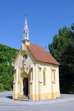 Max Emanuel chapel at Wasserburg am Inn