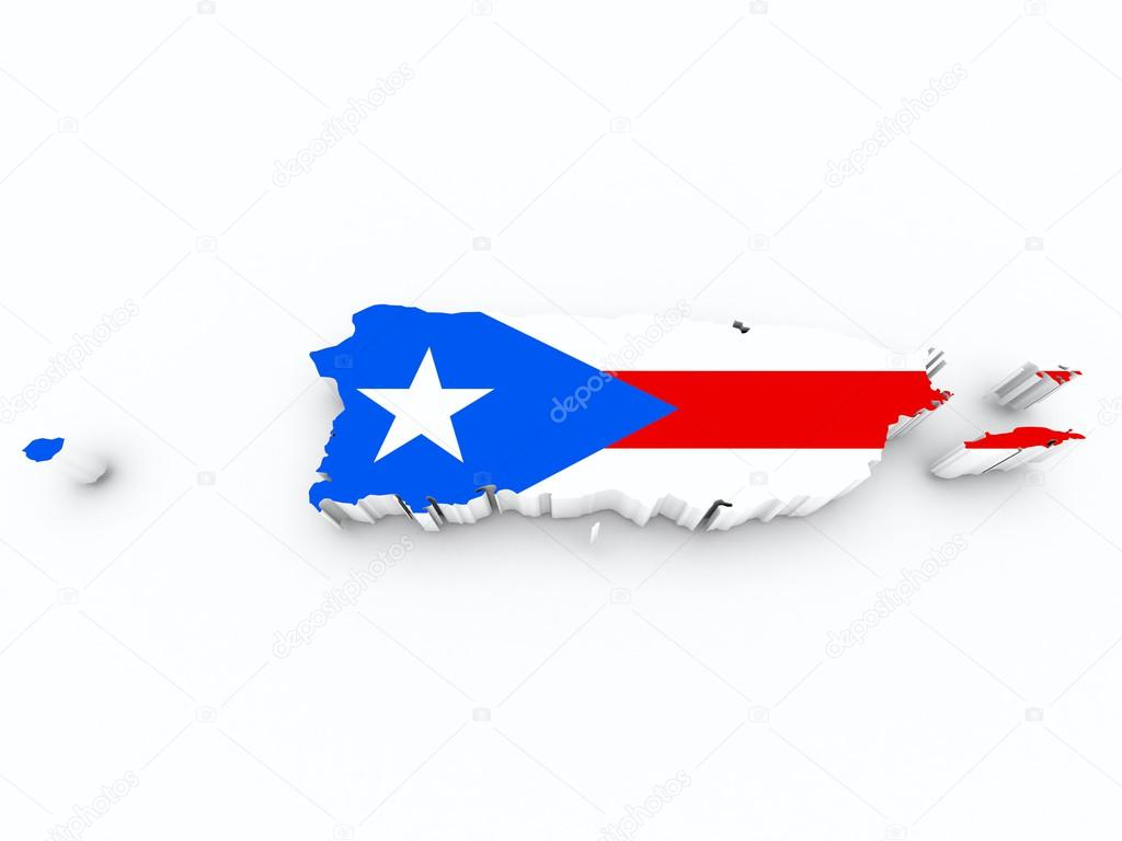 Puerto rico flag on 3d map stock photo godard 28157533 puerto rico flag on 3d map stock photo biocorpaavc Choice Image