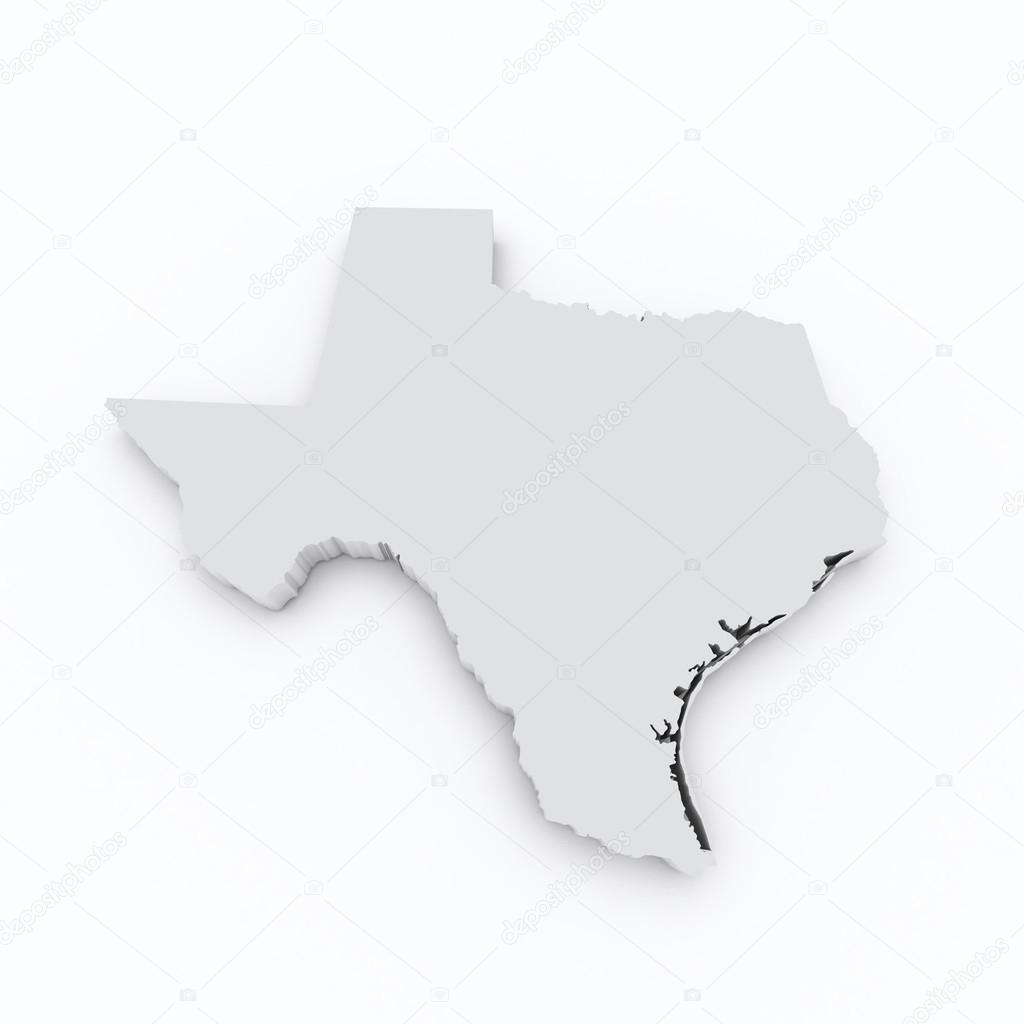 3d Map Of Texas.Texas State Flag On 3d Map Stock Photo C Godard 41834157