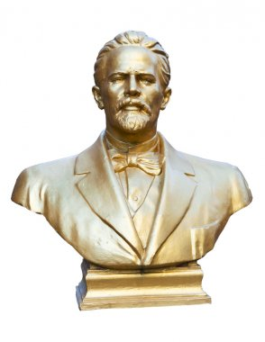 bust of the writer and dramatist Anton Chekhov