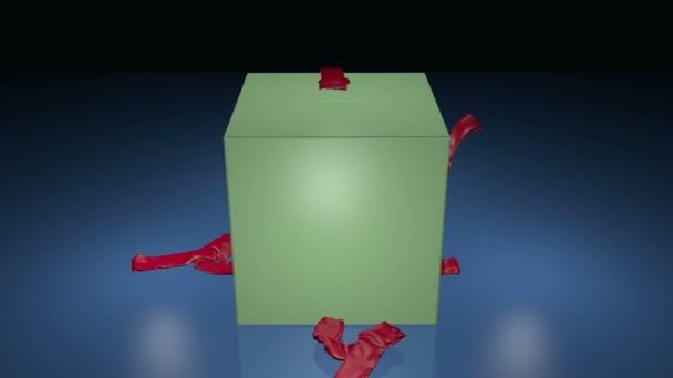 Dárková krabice otvor
