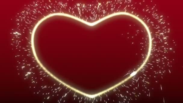 zářící srdce