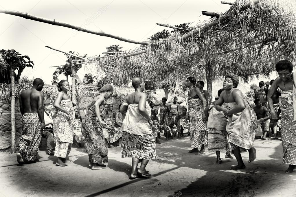 Dancing party in Togo