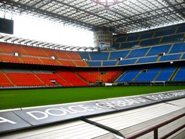 Stadium San Siro or Giuseppe Meazza in Milan, Italy.
