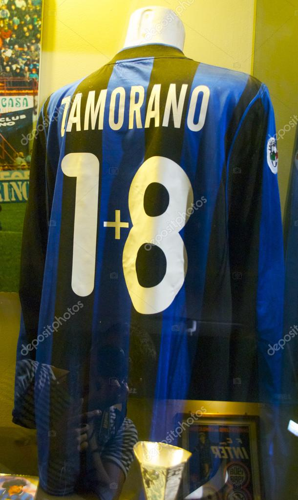 size 40 251e1 ee81c Famous Inter football shirt of Ivan Zamorano, number 1plus8 ...