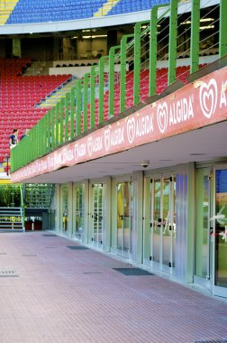 VIP zone of the Stadium San Siro in MIlan, Italy