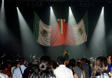 Performance of a parodist from Mexico