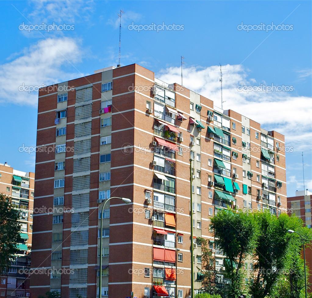 Arquitectura de madrid espanha stock photo - Arquitectura de interiores madrid ...