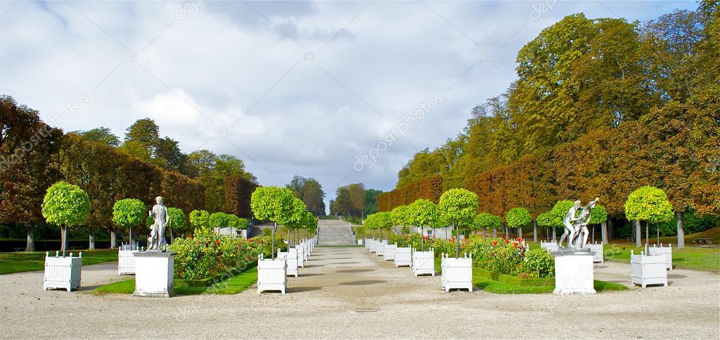 Garden in Parc de Saint-Cloud