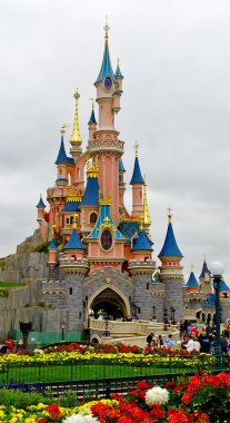 Picture of the Sleeping Beauty castle