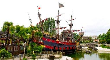 Peter Pan's pirate ship