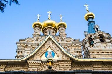The Russian Orthodox Church of Maria Magdalene, Jerusalem, Israe