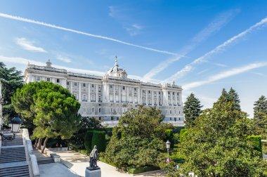 "Картина, постер, плакат, фотообои ""Архитектура Мадрида, столицы Испании"", артикул 30571599"