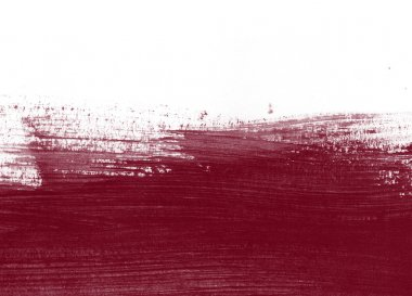 Burgundy hand painted background