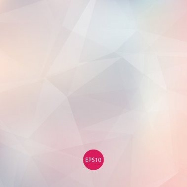 Light colors subtle pale vector abstract polygonal background.
