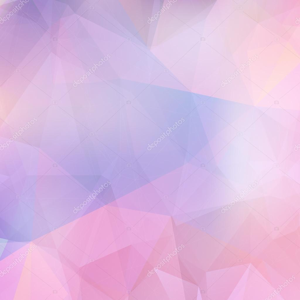 Purple Polygonal Abstract Background: Light Purple Soft Subtle Vector Abstract Polygonal