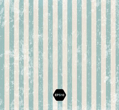 Vintage striped weathered vector background.