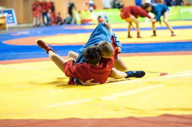 Sambo or Self-defense without weapons. Junior competitions