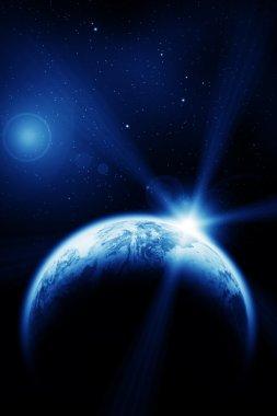 Space dawn