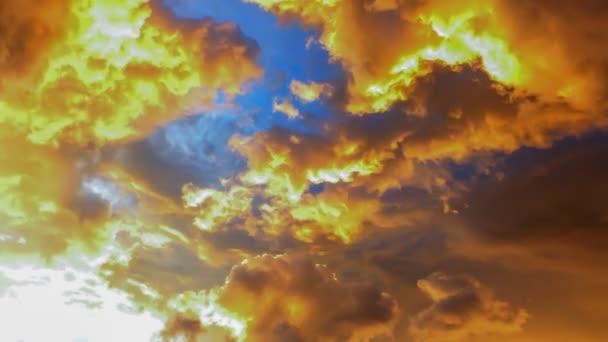 západ slunce časová prodleva