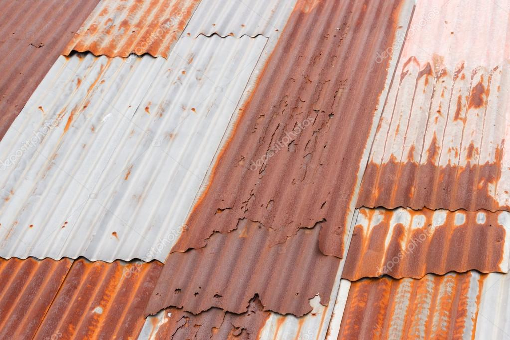 Rusty Metal Roof U2014 Stock Photo #18176855
