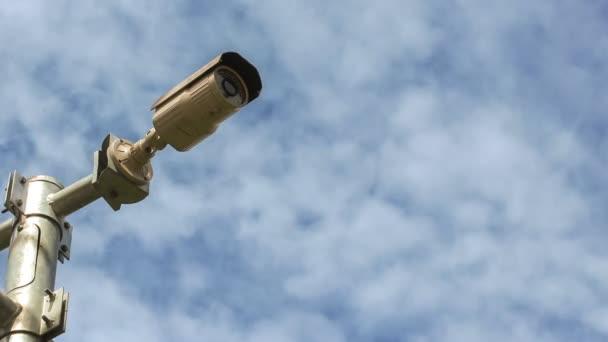bezpečnostní kamery, časová prodleva