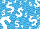 peníze podtisku