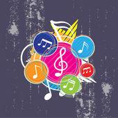 Hudební festival pozadí