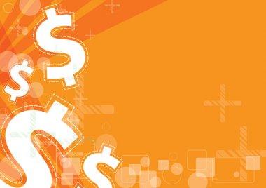 Money background design stock vector
