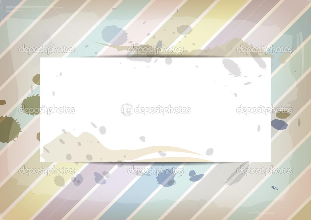 libro blanco sobre el color pastel con salpicaduras de tinta ...