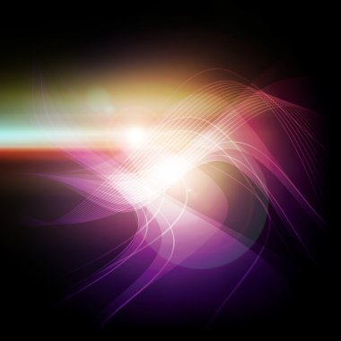 abstract violet light background
