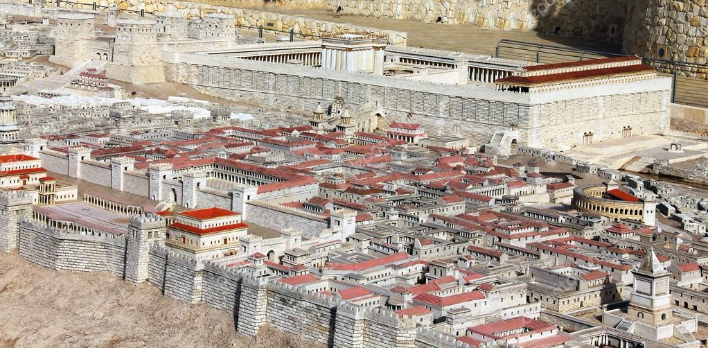 the palace of the high priest caiaphas and herod stock photo