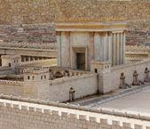 druhý chrám. starověké Jeruzalém.