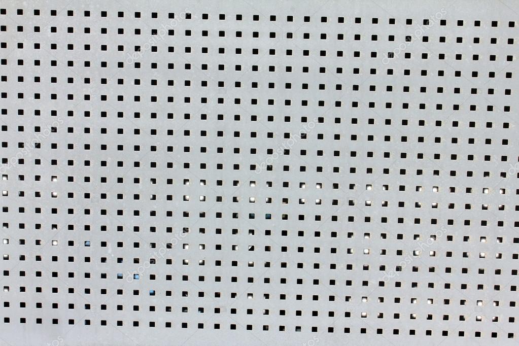 Abstrato com textura de chapa met lica perfurada - Chapa metalica ondulada ...