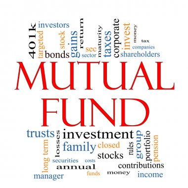 Mutual Fund Word Cloud Concept