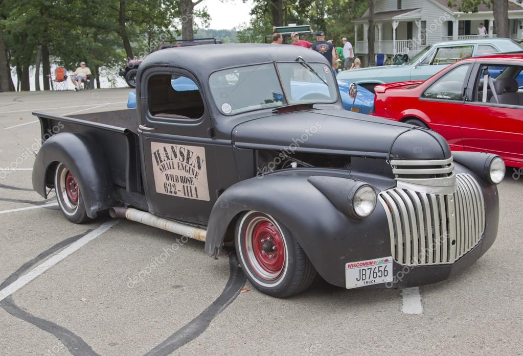 Old Black Chevy Pickup Truck – Stock Editorial Photo © mybaitshop ...