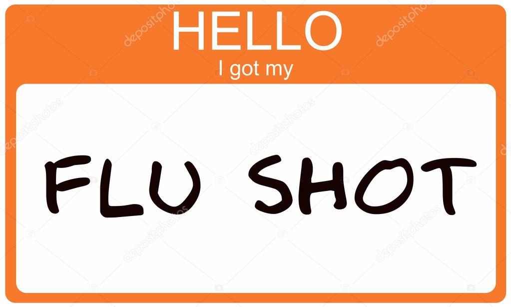 Hello I got my Flu Shot