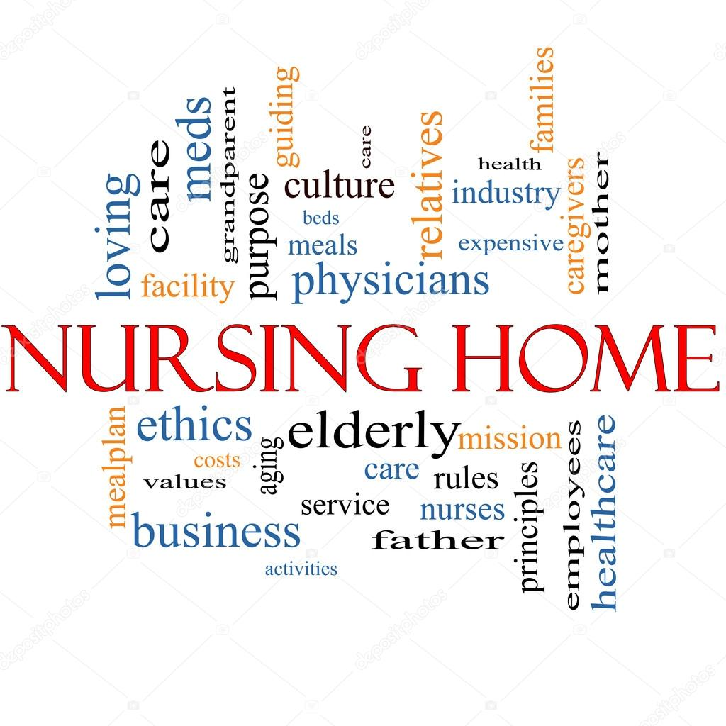 Nursing Home Word Cloud Concept